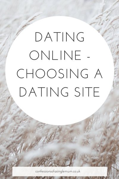 Choosing a Dating Site