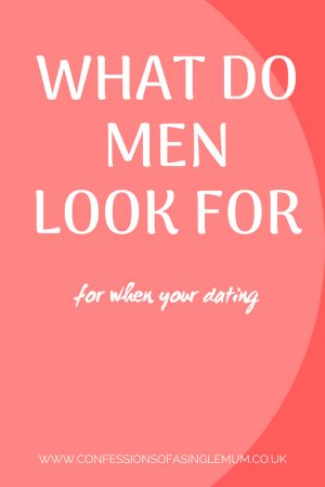 What do men look for
