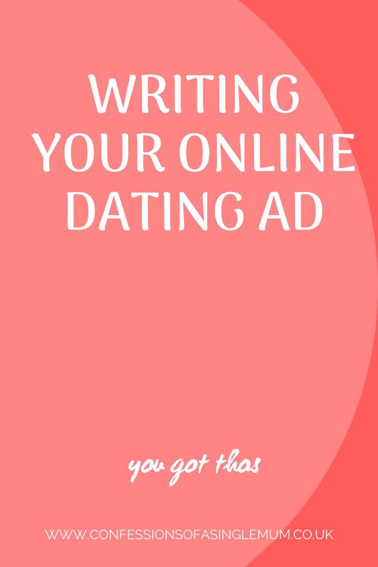 Writing Your Online Dating Ad