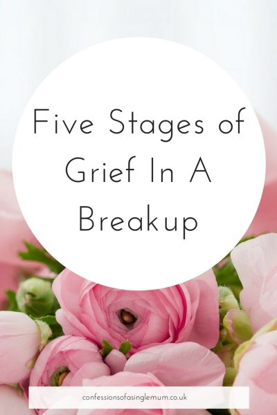 Five Stages of Grief In A Breakup