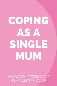 Coping as a Single Mum