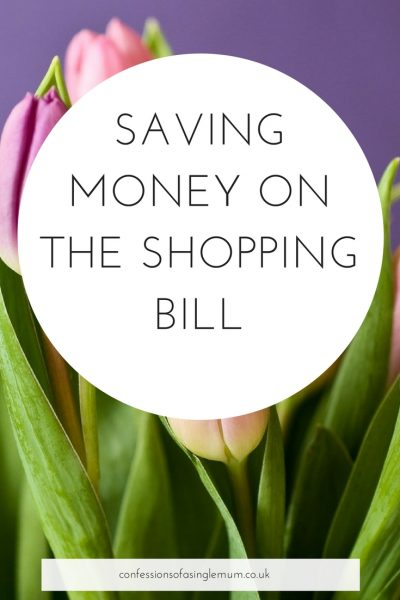 Saving Money on the Shopping Bill