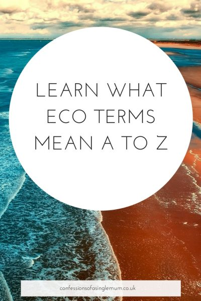 LEARN WHAT ECO TERMS MEAN A TO Z