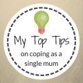 top tips coping single mum