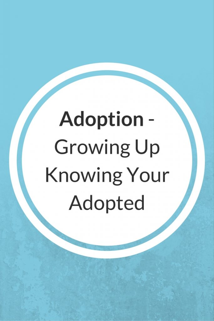 adoption knowing your adopted