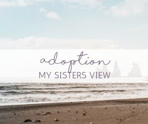 adoption my sisters view