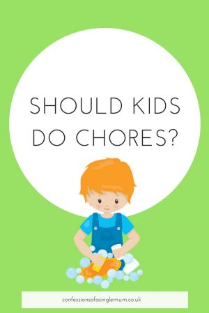 SHOULD KIDS DO CHORES