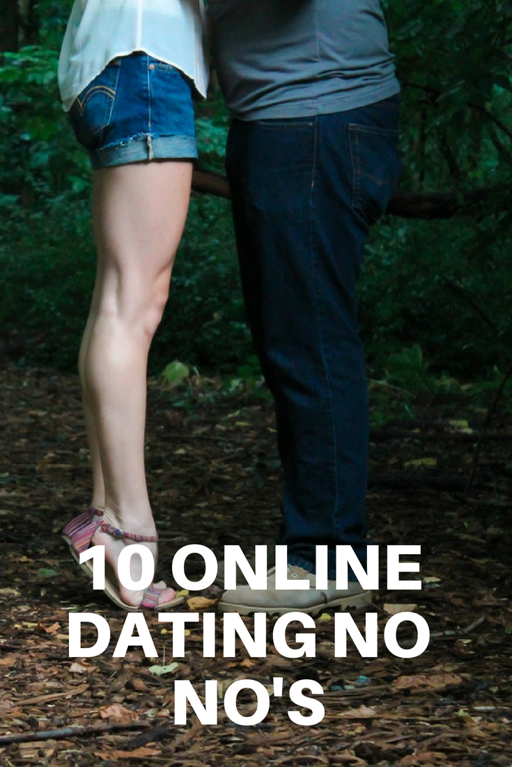 10 Online Dating No Nos 1