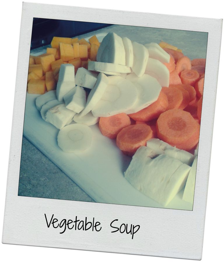 Vegetable Soup in Thursday Thrifting