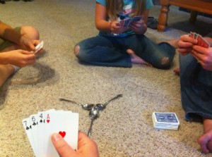 Spoons_Card_Game_Start