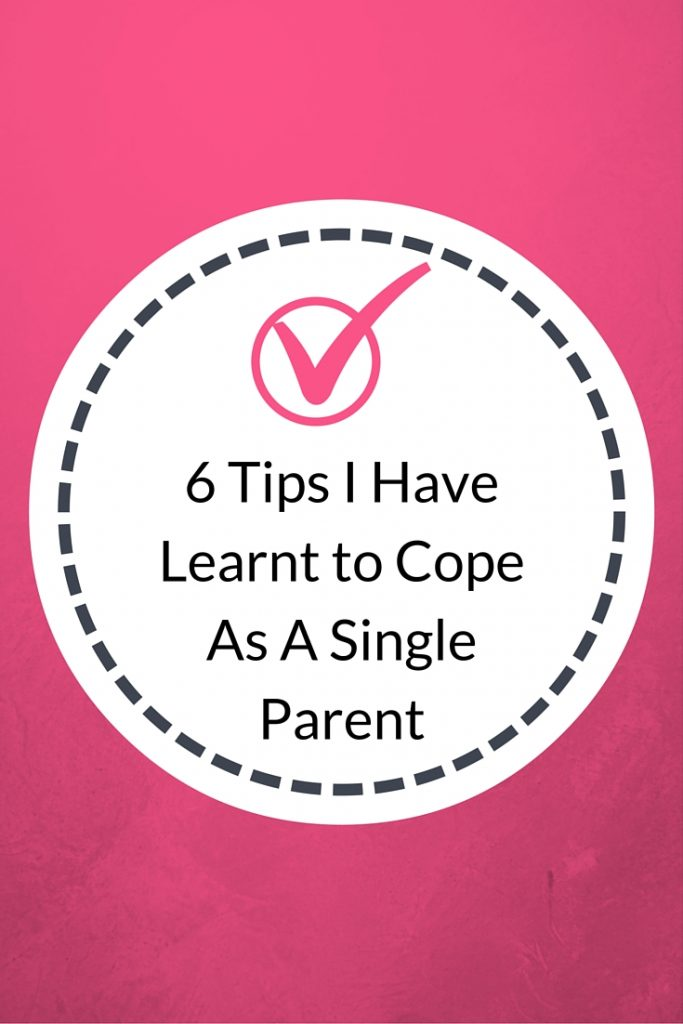 6 tips coping single parent