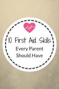 10 First Aid Skills every parent