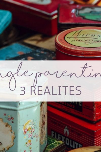 3 Single Parent Realities