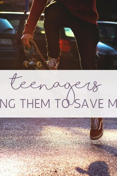 Getting Teenagers to Save