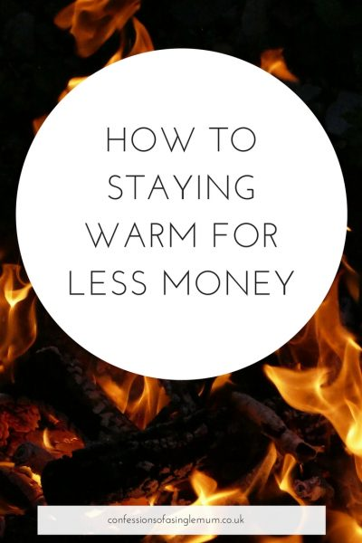 How To Staying Warm for Less Money