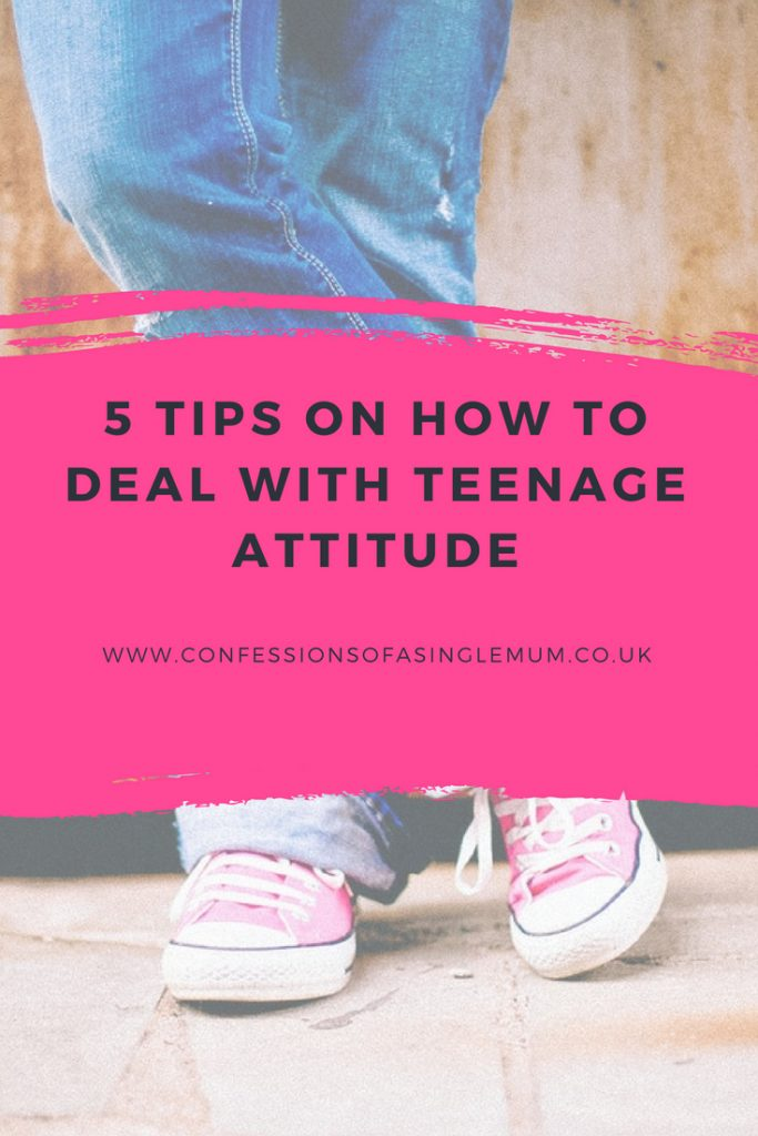 5 TIPS ON HOW TO DEAL WITH TEENAGE ATTITUDE 2