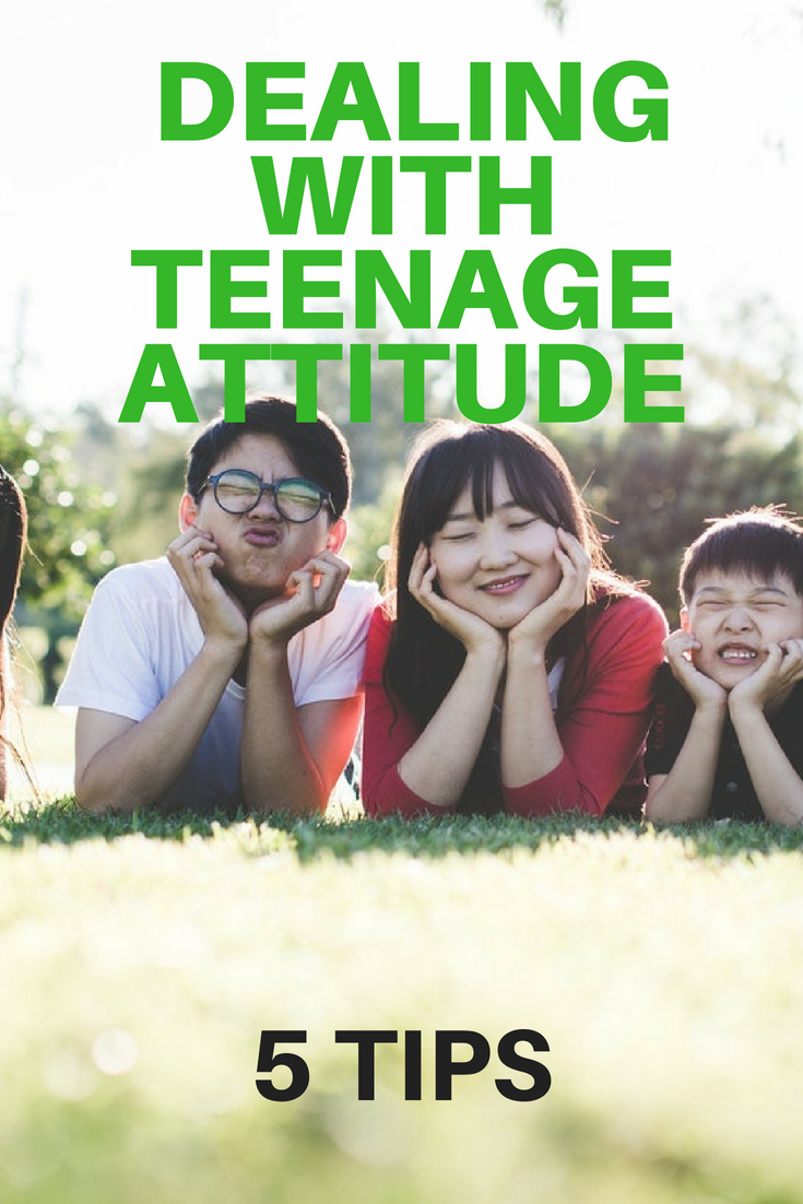 5 TIPS ON HOW TO DEAL WITH TEENAGE ATTITUDE 7