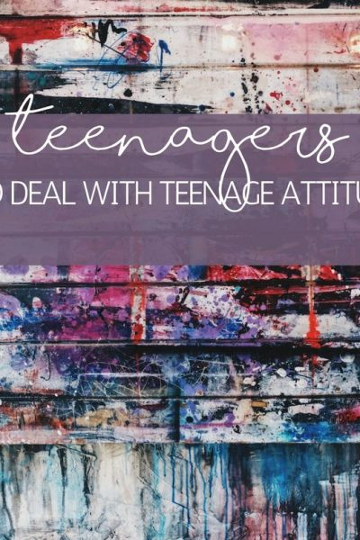 How To Deal with Teenage Attitude – 5 Tips