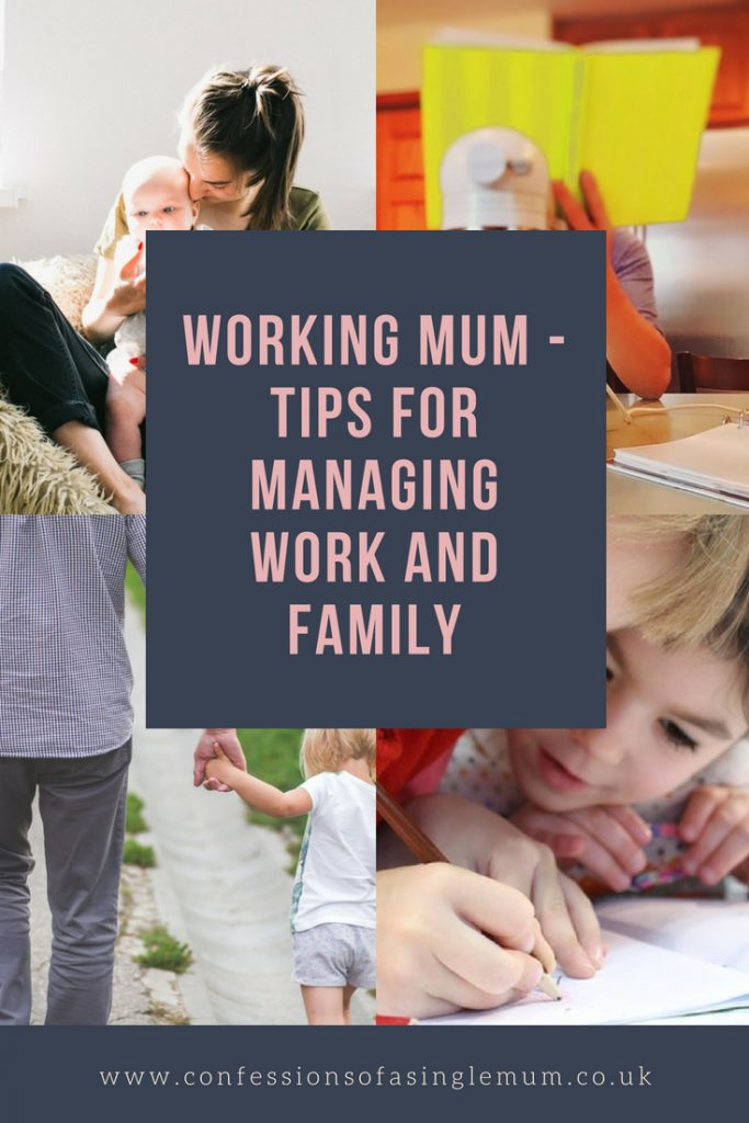 Working Mum Tips for Managing Work and Family 2