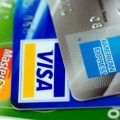 6134 close up of three credit cards pv