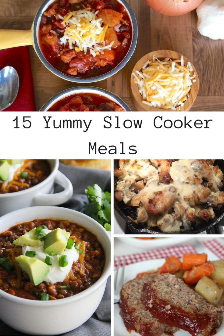15 Yummy Slow Cooker Meals