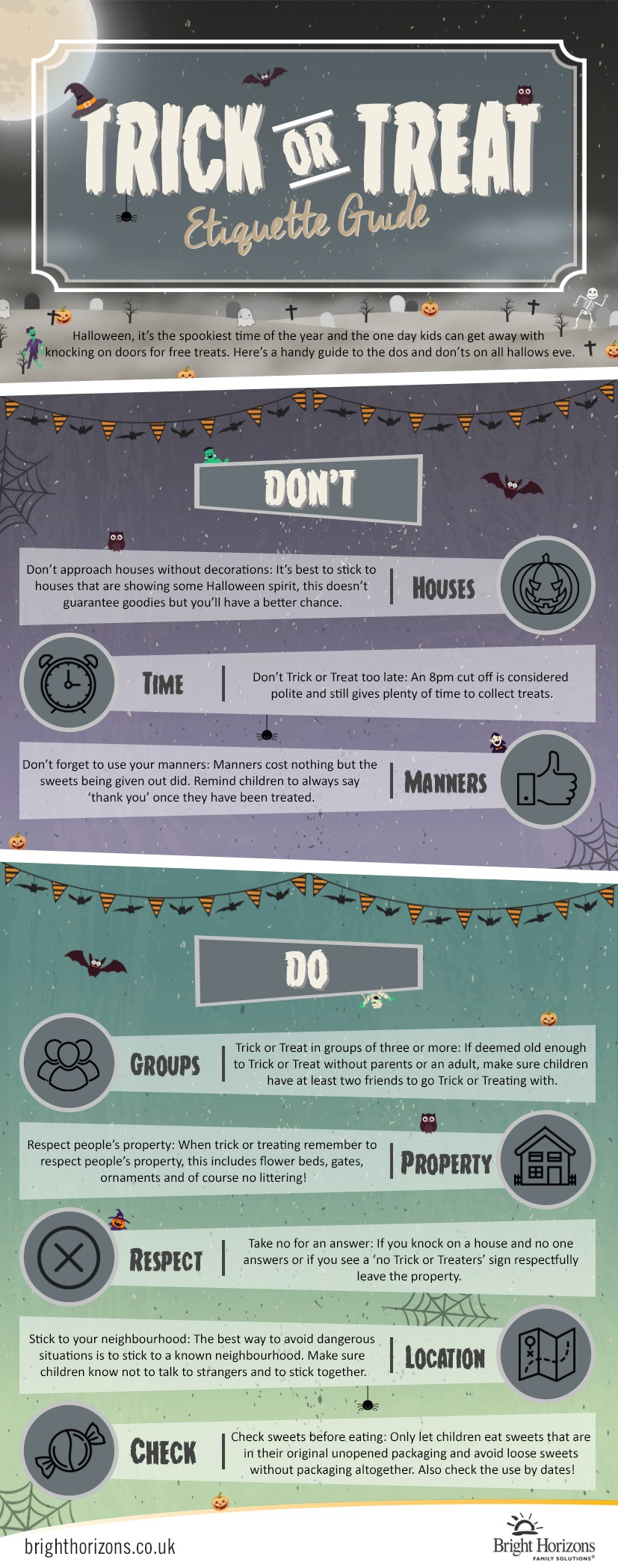 Trick or Treat Etiquette Guide