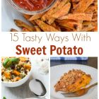 15 Sweet Potato Receipes