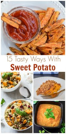 sweet potato with text