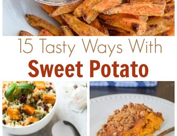 15 Sweet Potato Receipes