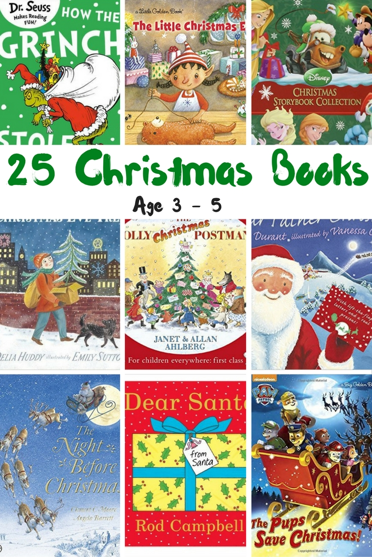 25 Christmas Books Age 3 -5