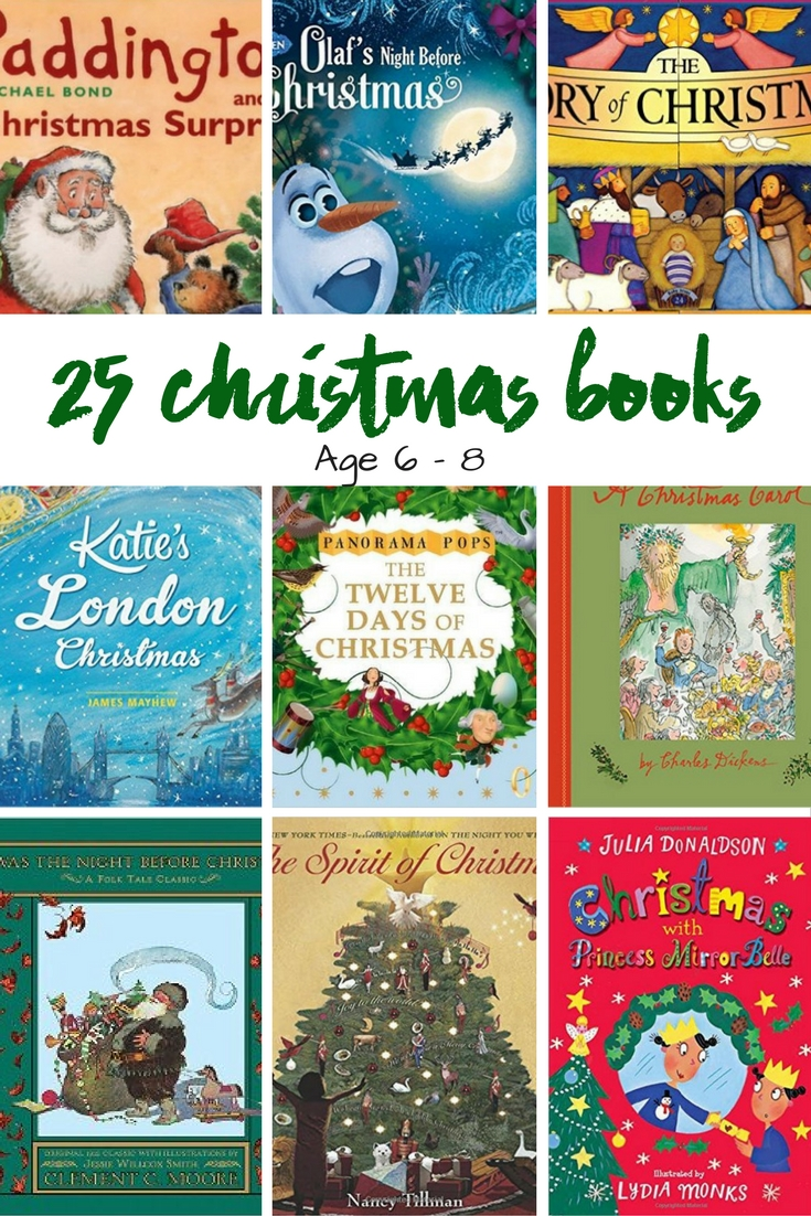 25 Christmas Books For Children age 6-8