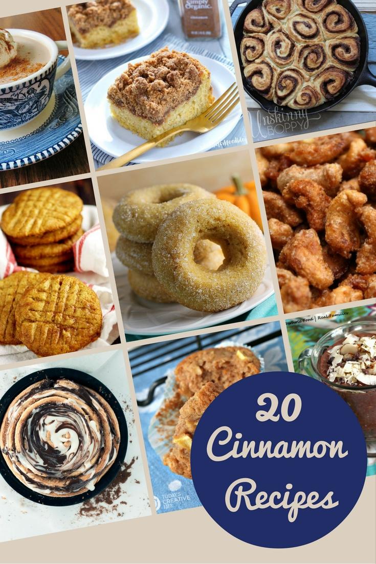 20 Cinnamon Recipes