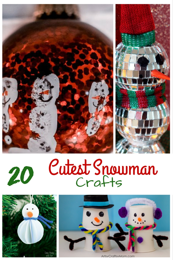 20-cutest-snowman-crafts-with-text