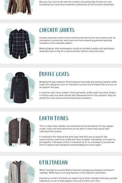 Winter Clothing Trends For Your Man