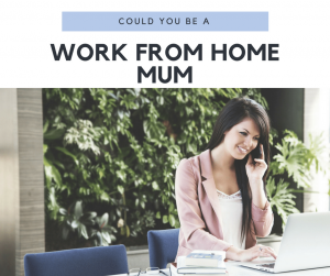 work from home mum