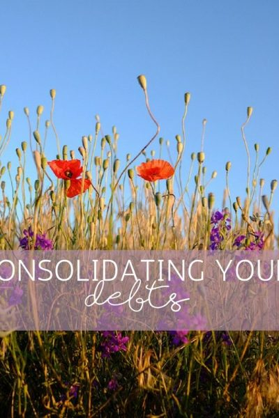 Consolidating Your Debts