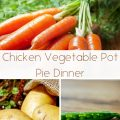 Chicken Vegetable Pot Pie Dinner