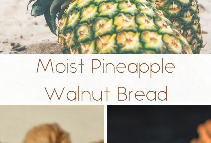 Moist Pineapple Walnut Bread