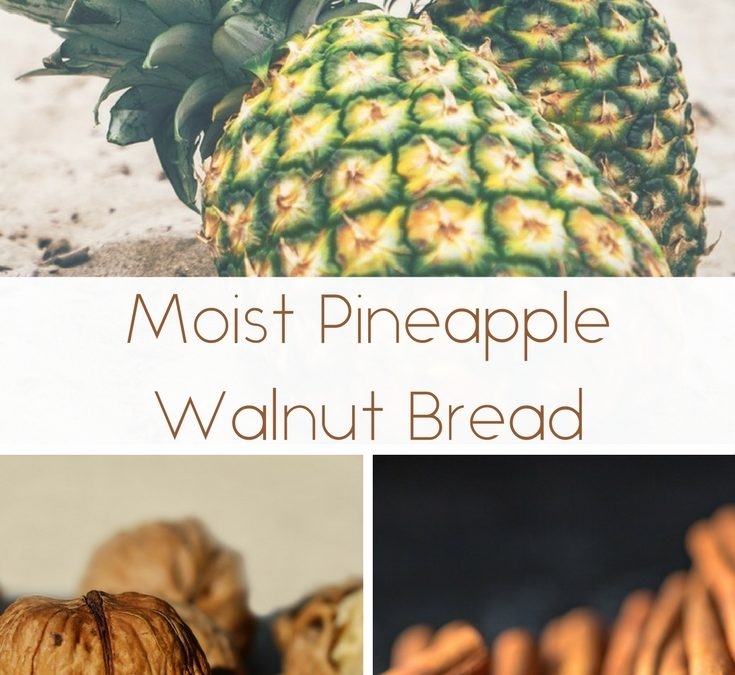 Moist Pineapple Walnut Bread