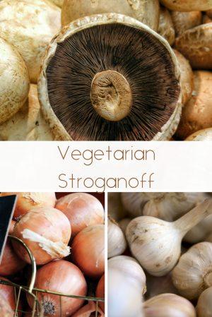 Vegetarian Stroganoff 1