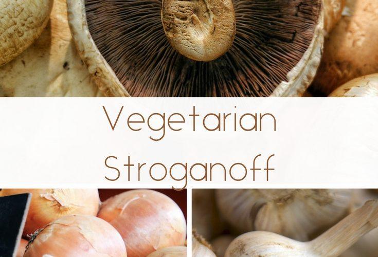 Vegetarian Stroganoff