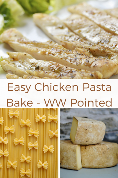 Easy Chicken Pasta Bake WW Pointed