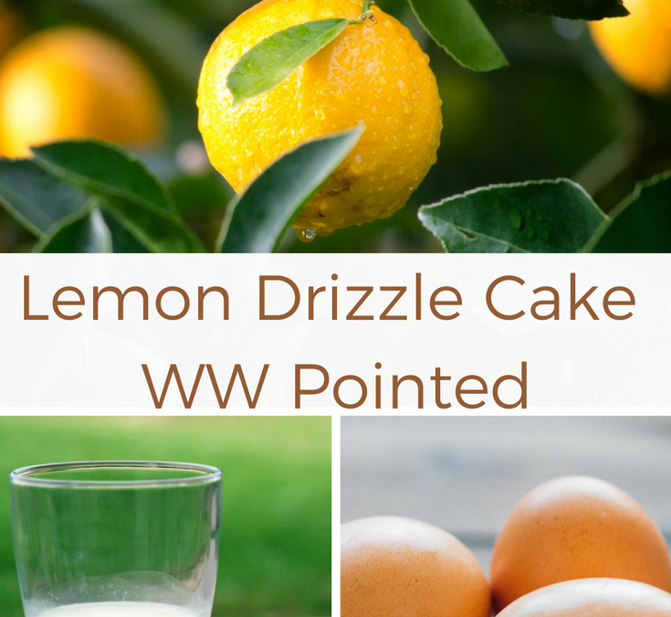 Lemon Drizzle Cake – WW Pointed