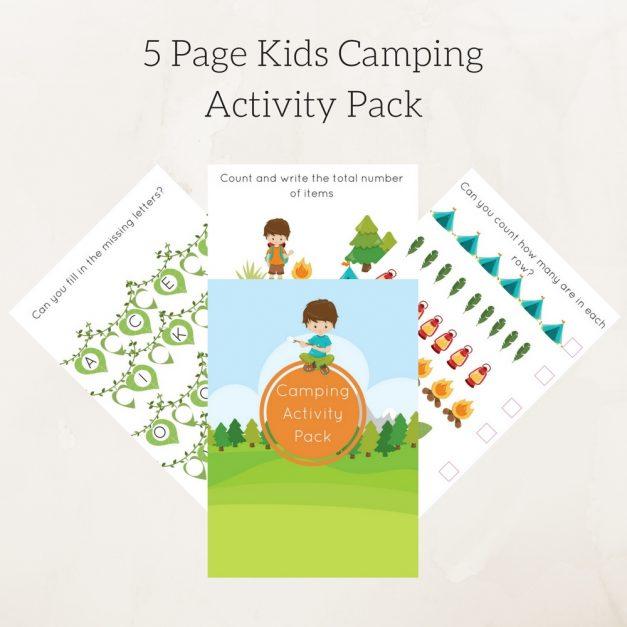 campingactivity pack 2