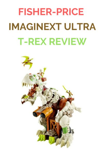 Fisher Price Imaginext Ultra T Rex Review 1