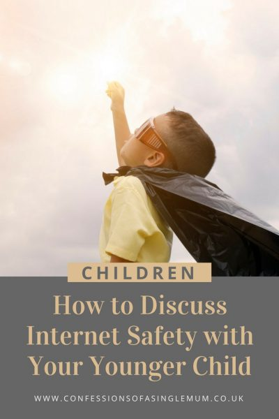 How to Discuss Internet Safety with Your Younger Child