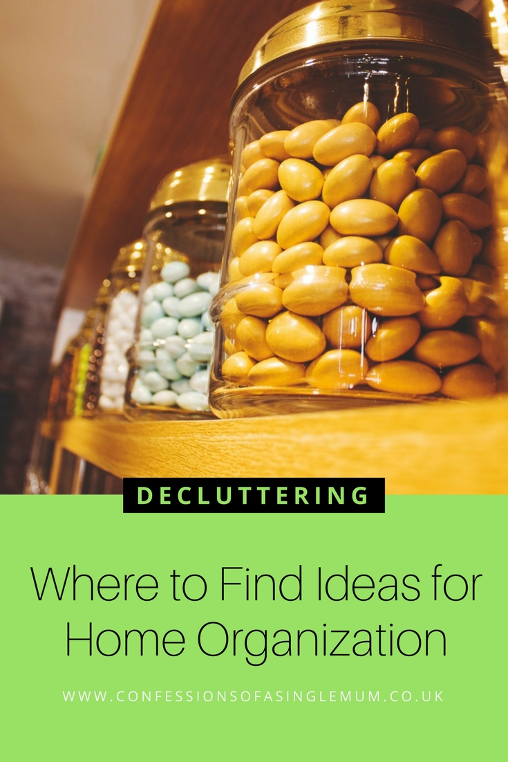 Where to Find Ideas for Home Organization