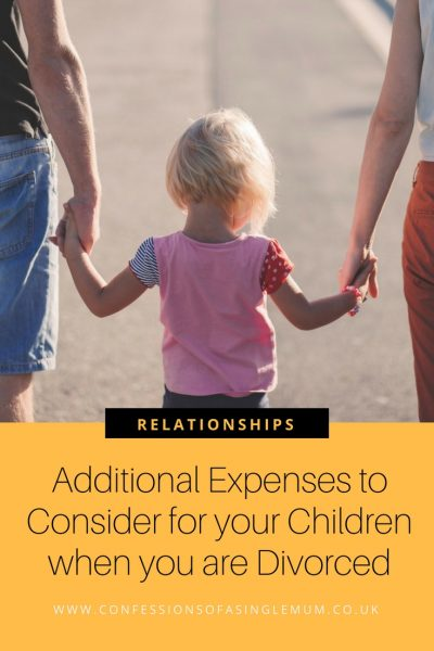 Additional Expenses to Consider for your Children when you are Divorced