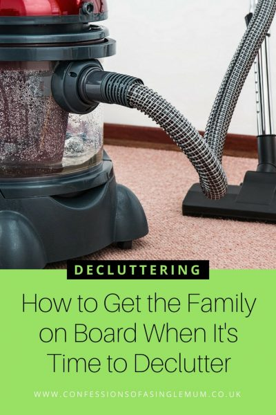 How to Get the Family on Board When It's Time to Declutter