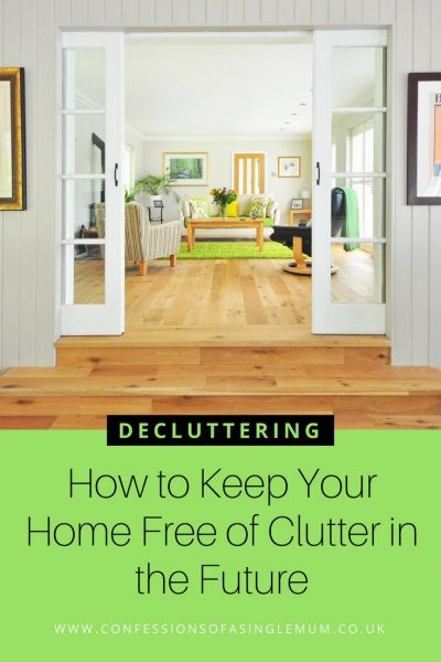 How to Keep Your Home Free of Clutter in the Future